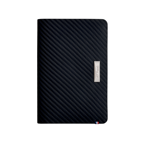 857d581100c5 S.T. Dupont Défi Carbone Leather Wallet, Black, 7 Cards, RFID Protection  170015
