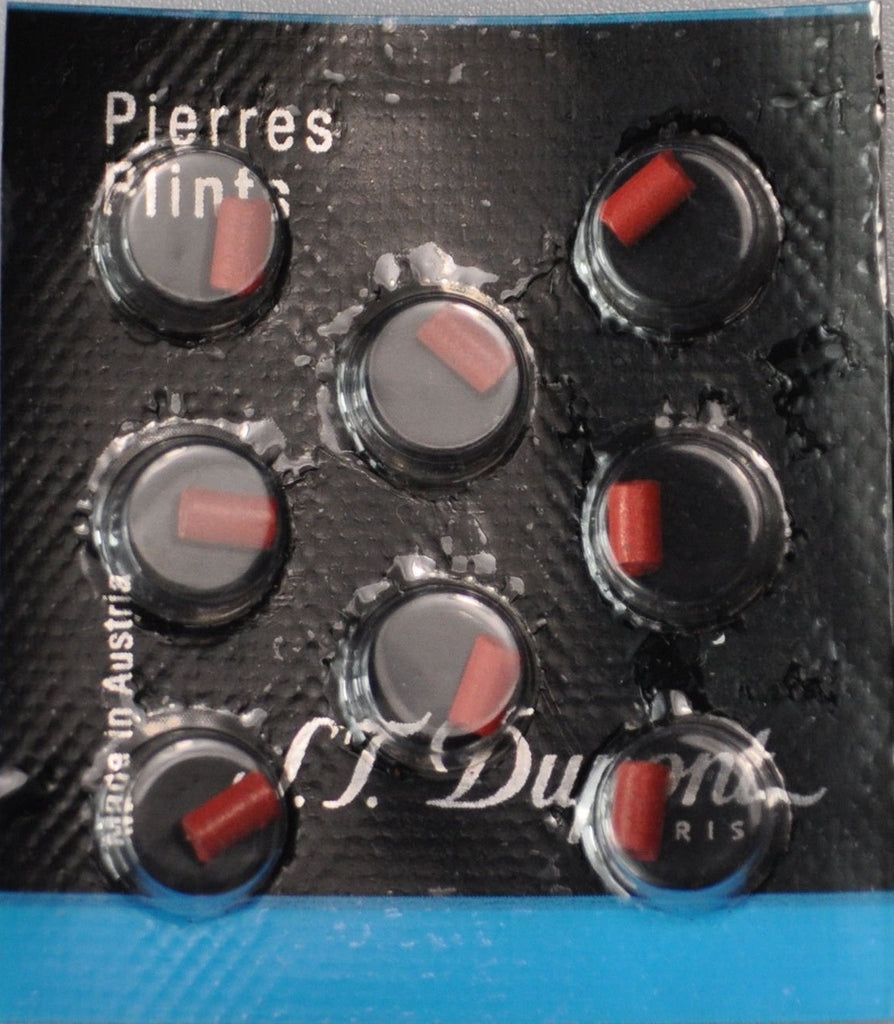 Dupont Lighter Red Flints Pack of 8 for Ligne D 650 S.T Ligne 8 /& Le Grand