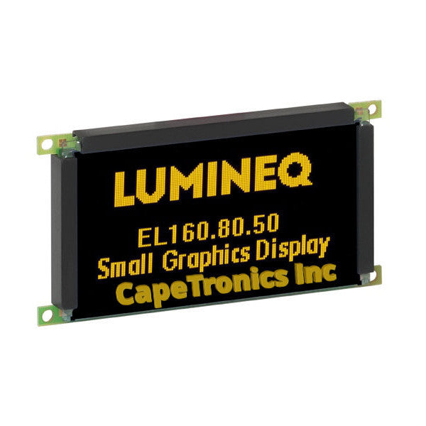 EL160.80.50 Planar Lumineq EL display. Brand new in the USA.