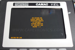 Get Capetronics to repair the CAMAC VEL controllers.
