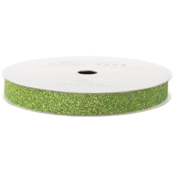 American Crafts Glitter Tape Spinach