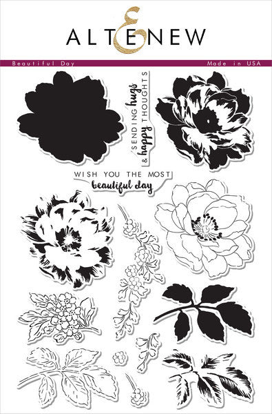 Altenew Beautiful Day Photopolymer Stamp Set