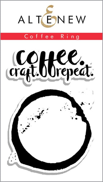 Altenew Coffee Ring Mini Photopolymer Stamp Set