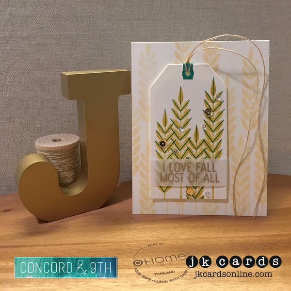 Concord & 9th Give Thanks Photopolymer Stamp Set