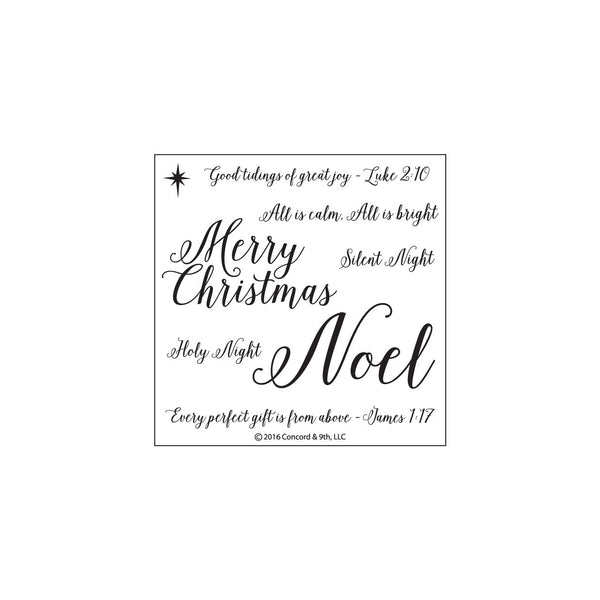 Concord & 9th Holy Nights Photopolymer Stamp Set