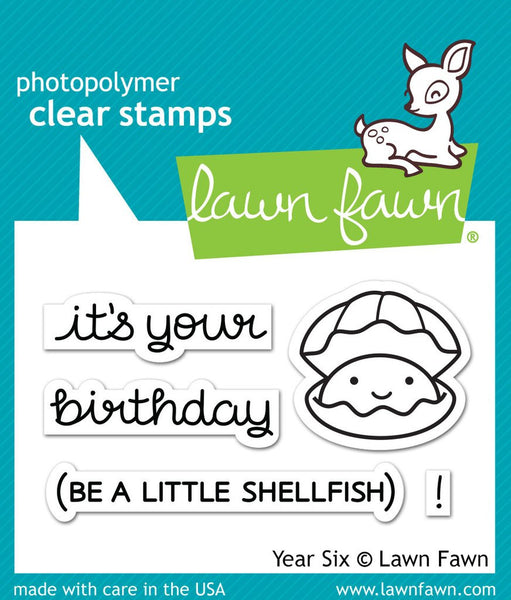 Lawn Fawn Year Six Photopolymer Stamp Set