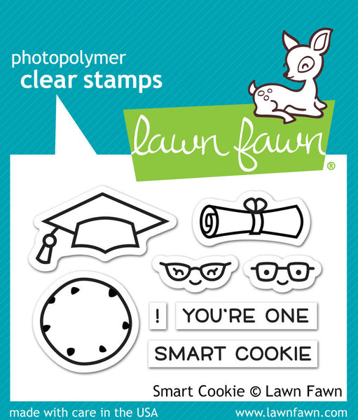 Lawn Fawn Smart Cookie Photopolymer Stamp Set