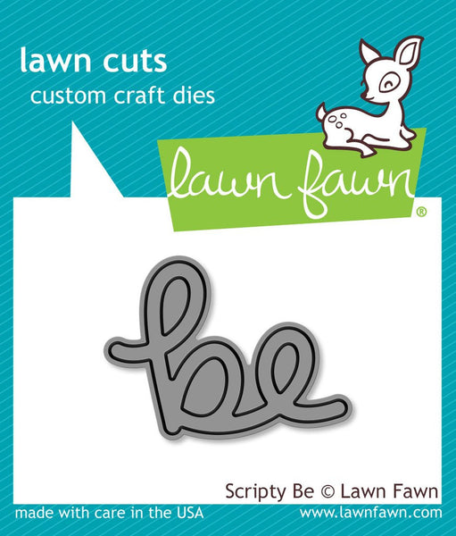 Lawn Fawn Scripty Be Lawn Cuts