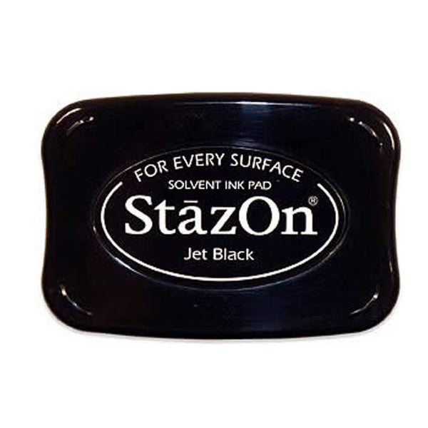 Staz-On Jet Black Ink Pad