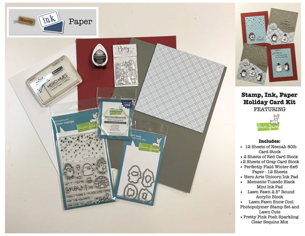 Lawn Fawn Holiday Card Kit 2016 - 2