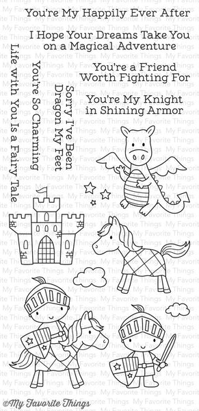 MFT Knight in Shining Armor Stamps