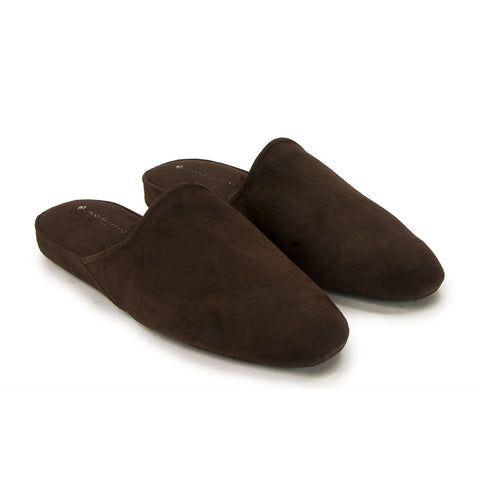 Jacques Levine - #18017 - Mens Slippers in Brown