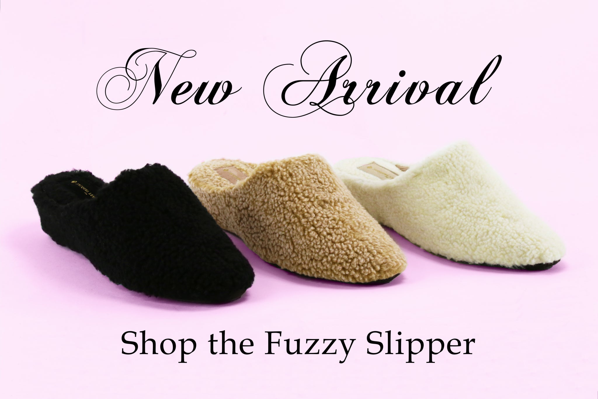 Jacques Levine's - The Perfect Slippers To Stay Home With