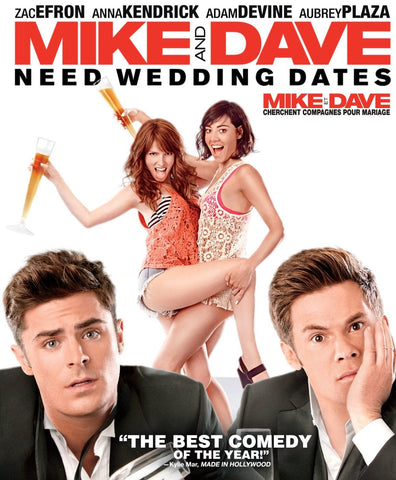 Funny, Mike and Dave Need Wedding Dates, movie night in