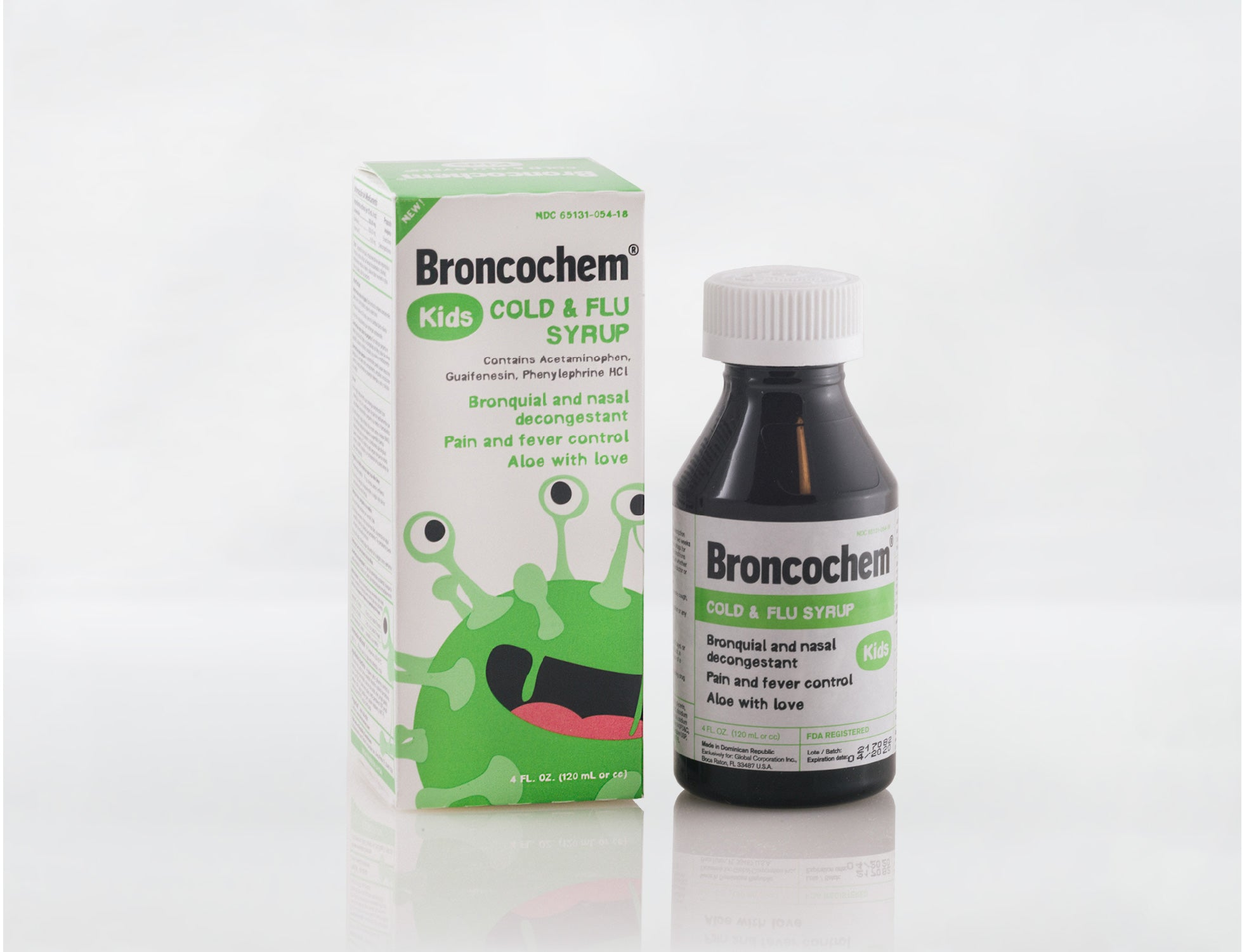 Broncochem Kids 2+ Cold & Flu Syrup