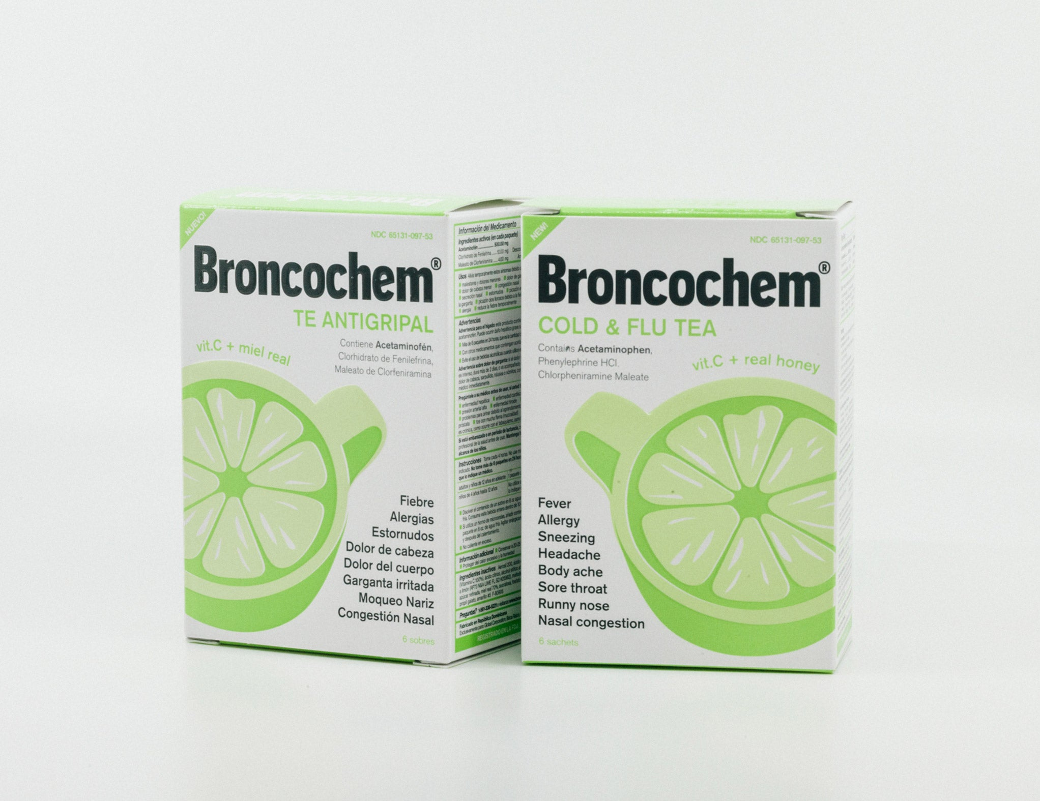 Broncochem Cold & Flu Tea (6 Packets)