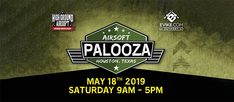 Visit Titan today at AIRSOFT PALOOZA 2019