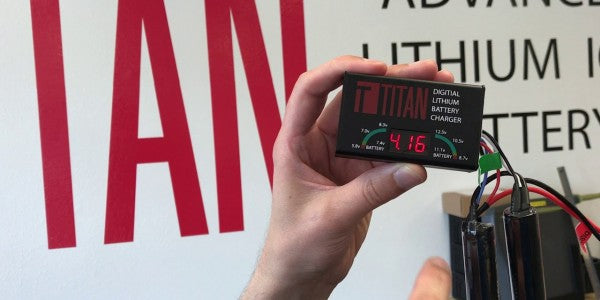 Titan New Digital Lithium Charger