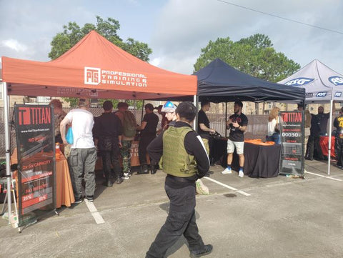 Titan booth at Airsoft Palooza 2019