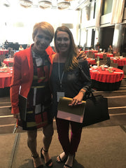 Eryn & Barbara Corcoran in NYC earlier this year.