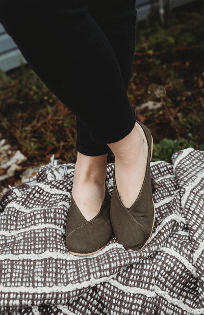 Olive Flats-Organic | Vegan | Fair Trade - Kallie & Co.