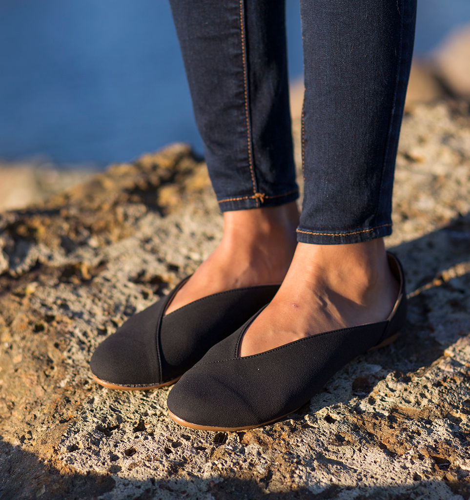 Belle- Vegan |Fair Trade Flat - Kallie & Co.