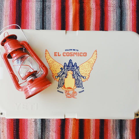 El Cosmico Provision Co. YETI & Big Bend Brewing Co.