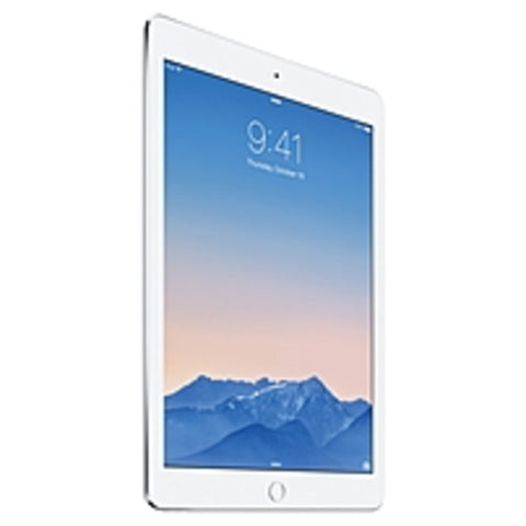 Apple iPad Air 2 MGTY2LL/A 128 GB Tablet - 9.7 - Retina Display, In-plane Switching (IPS) Technology - Wireless LAN - Apple A8X 1.50 GHz - Silver - iOS 8 - Slate - 2048 x 1536 Multi-touch Screen Display (LED Backlight) - Bluetooth - Triple-core (3 Core)