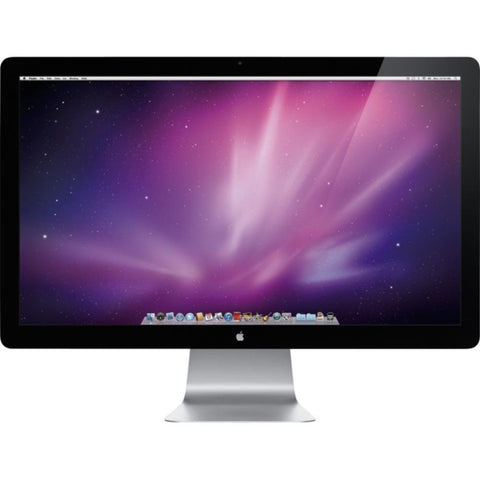 27 Apple Cinema LED WideScreen 2560x1440 LCD w/ Microphone Camera USB Hub A1316 MC007LL/A