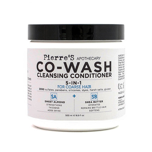 Co-Wash Cleansing Conditioner for Coarse Hair