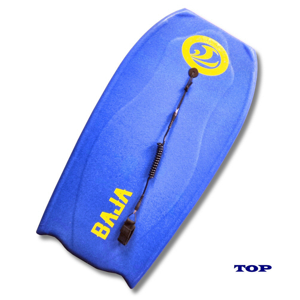 CBC Baja 42 Inch Bodyboard, Blue/Yellow