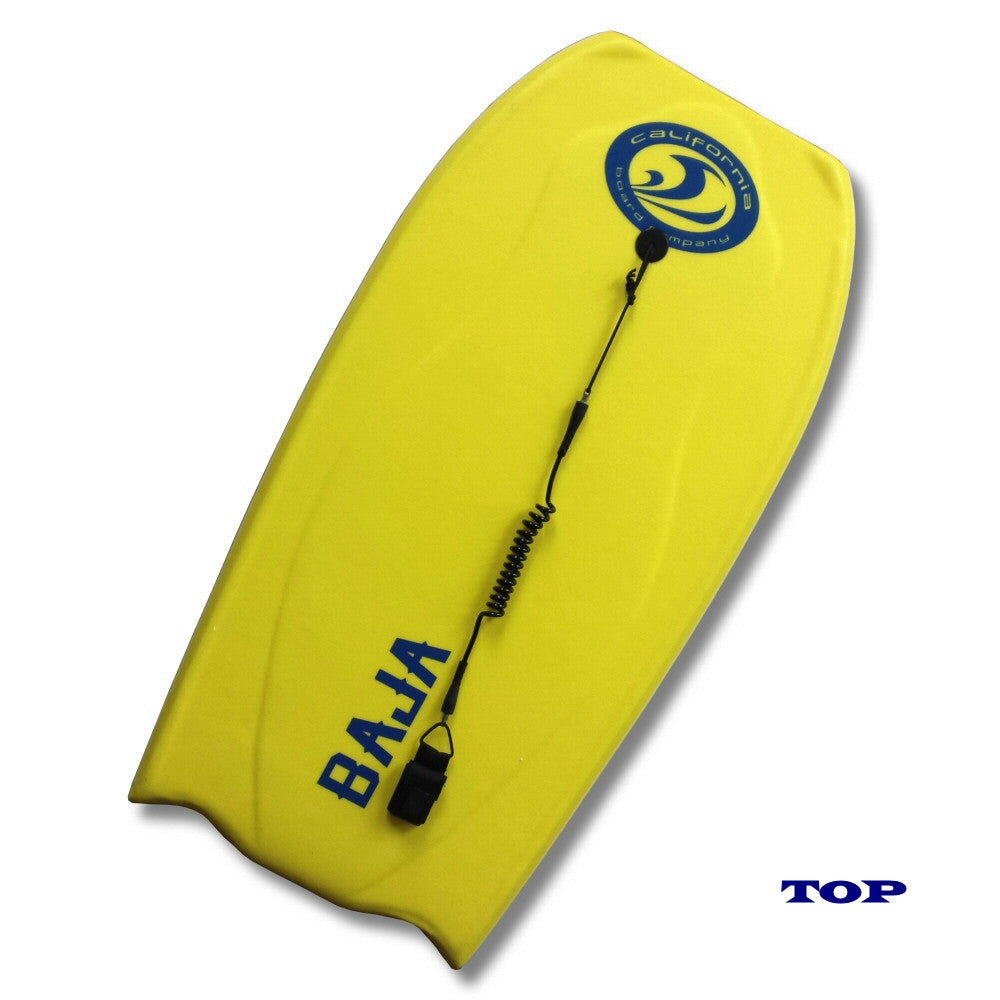 CBC Baja 42 Inch Bodyboard, Yellow/Blue