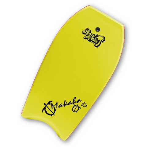 Local Motion Makaha 39 and 42 Inch Yellow Bodyboard