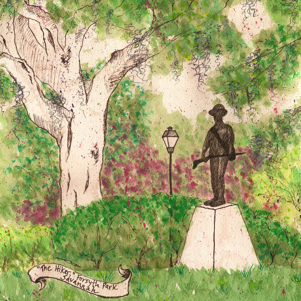 The Hiker, Forsyth Park by Tamara Garvey Gallery 209