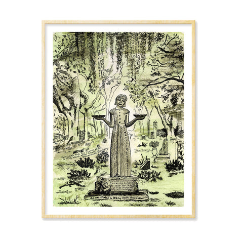 Girl of Bonaventure print (Color) by Tamara Garvey Gallery 209