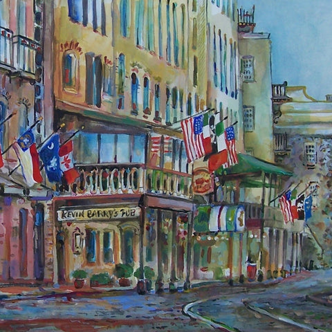River Street West print by Sharon Saseen