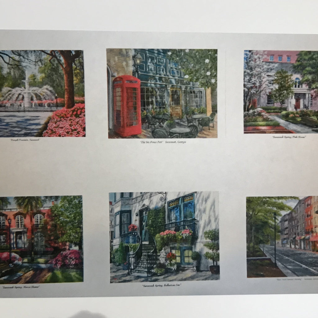 pack of six notecards Gallery 209