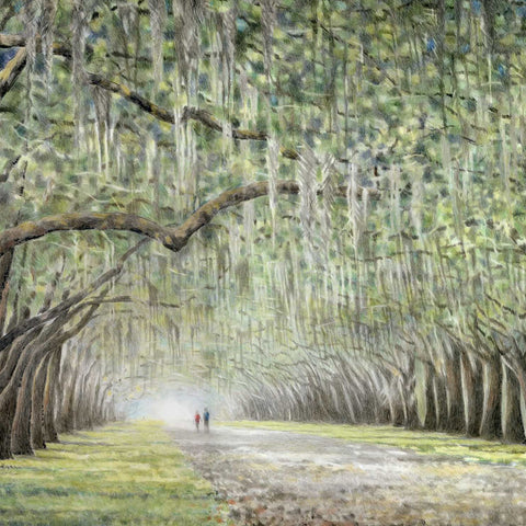 A Walk Through Wormsloe by Kim Miller Gallery 209