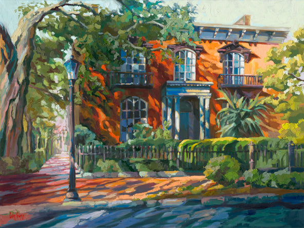 painting by Luba Lowry in Savannah GA
