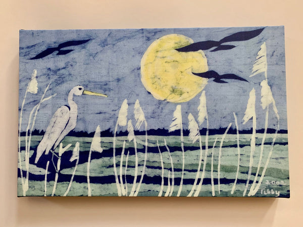 Batik art by Tibby Llewellyn at Gallery 209
