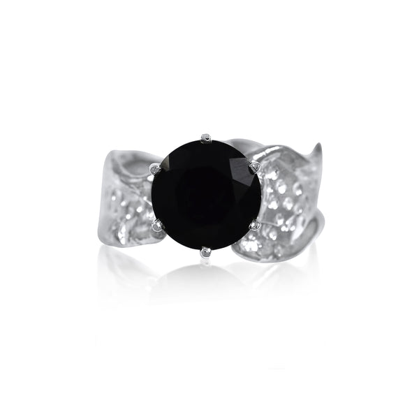 Kristen Baird Ripple Ring Gemstone Onyx