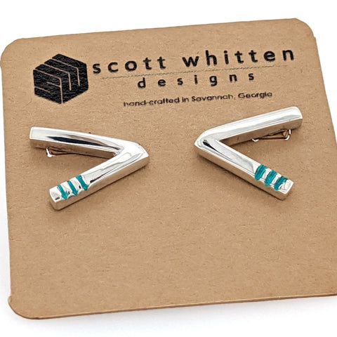 modern chevron shape Scott Whitten