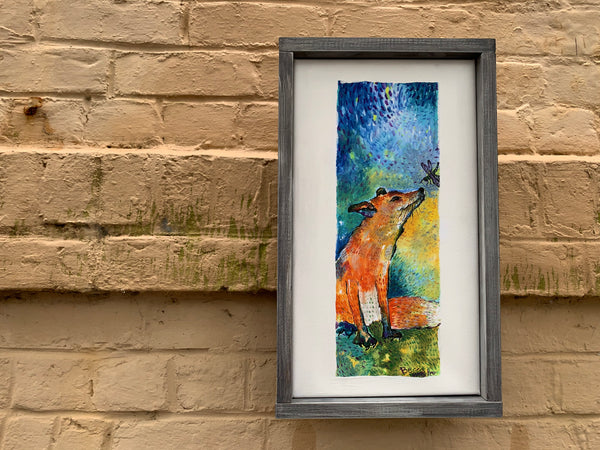 Buddy the Bonaventure Fox by Rebecca Sipper Gallery 209