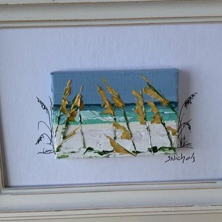 seaoat painting by Sue Nichols