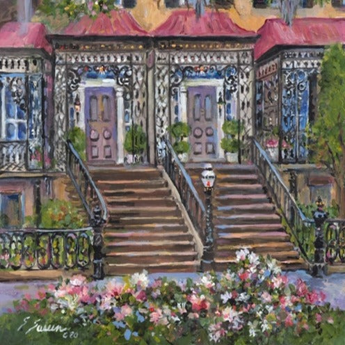 Charles Rogers Houses by Sharon Saseen Gallery 209