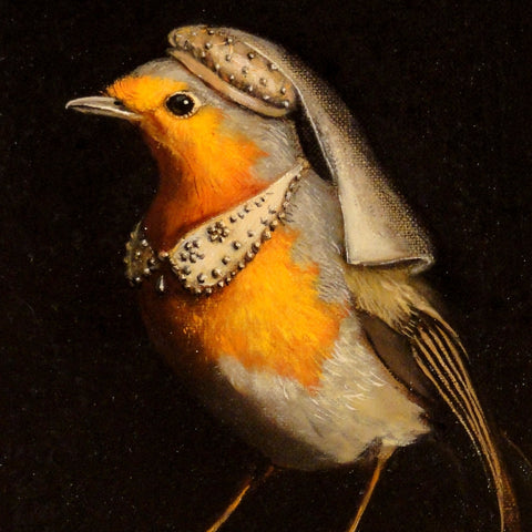 robin painting by Olivia Beaumont