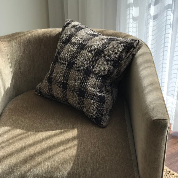 PLAID BOXED CUSTOM PILLOW