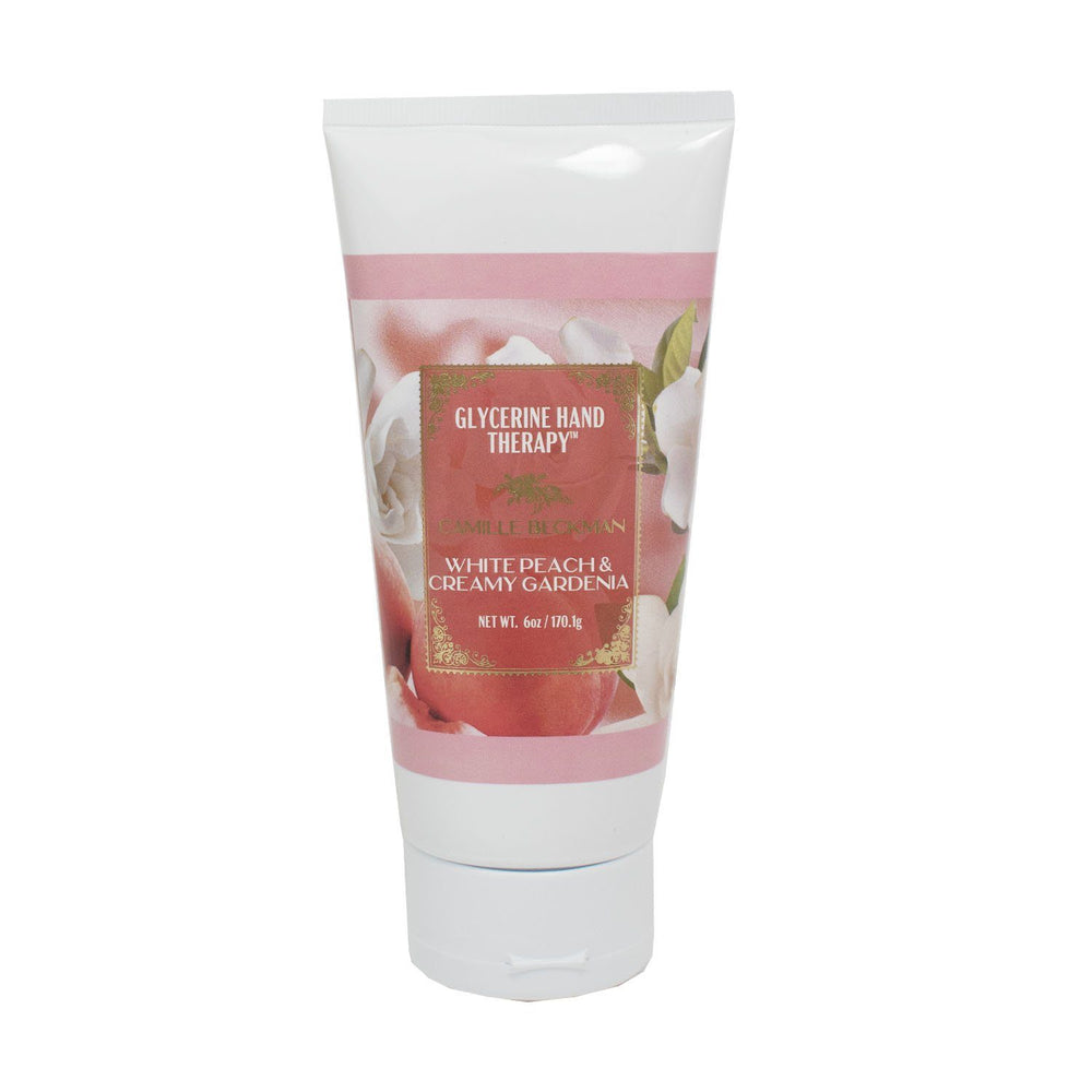 NEW!  GLYCERINE HAND THERAPY™ 6oz White Peach & Creamy Gardenia (6/case)