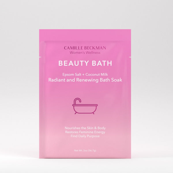 Beauty Bath - Radiant and Renewing Bath Soak (15/Case) Bath Soaks Camille Beckman