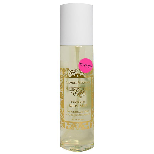 Fragrant Body Mist 8oz Platinume Gold (Tester) Body Mist Camille Beckman Wholesale
